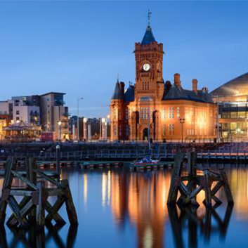 Out and about in Cardiff Bay