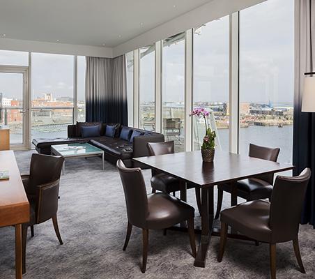 Signature Suite with a generous lounge area