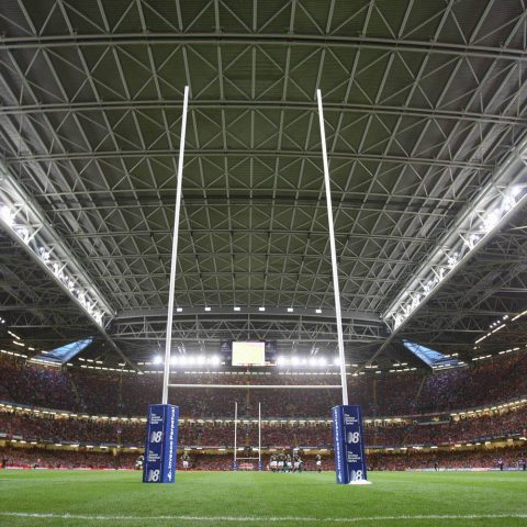 Wales vs England Rugby World Cup Principality Stadium