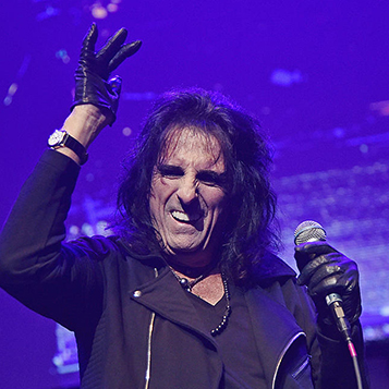 See Alice Cooper on his UK tour in Cardiff