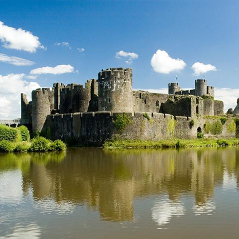 Cardiff castle tourist destination