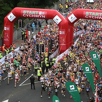 Take part in the Cardiff Half marathon