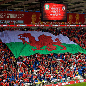 Euro qualifiers Wales v Croatia at the Cardiff City Stadium